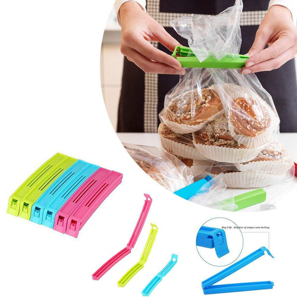 18 Pcs Food Clips (Big, Medium, Small) - H00068 - ALL MY WISH