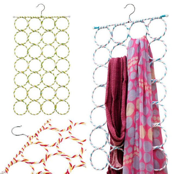 28 Rings Scarf Hanger (Random Color) - H00071 - ALL MY WISH
