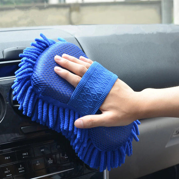 Microfiber Car Cleaning Sponge - H00072 - ALL MY WISH