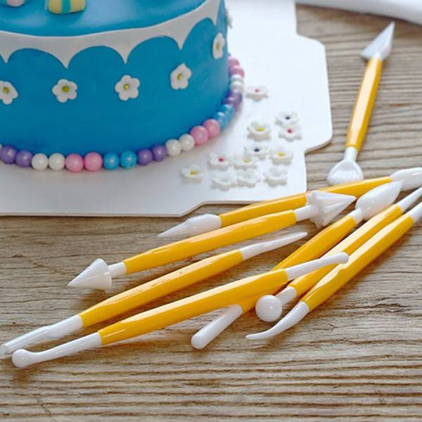 8Pcs Cake Decorating Tools (Random Colors) - H00078 - ALL MY WISH