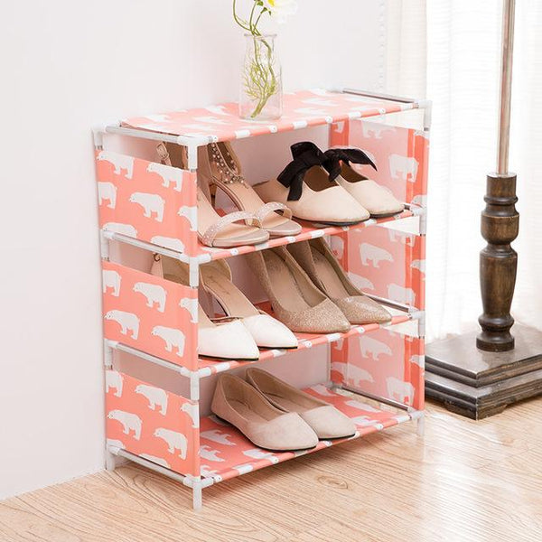 4 Layer Shoe Rack - H00081 - ALL MY WISH