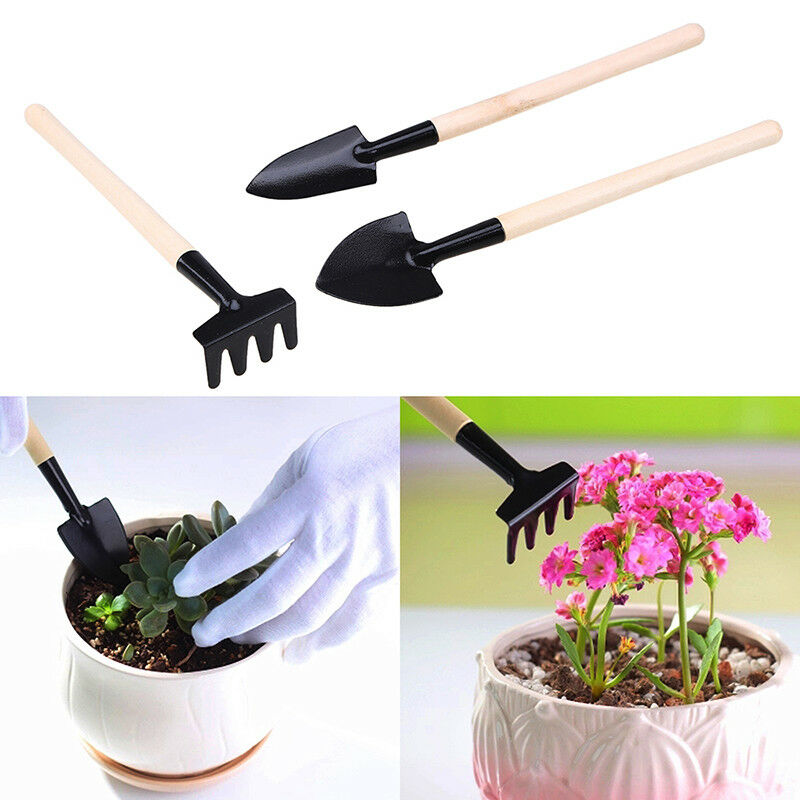 Small 3 Pcs Garden Tools - H00089 - ALL MY WISH