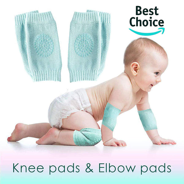 Baby Knee and Elbow Safety Protector (2 Pairs) - H00094 - ALL MY WISH
