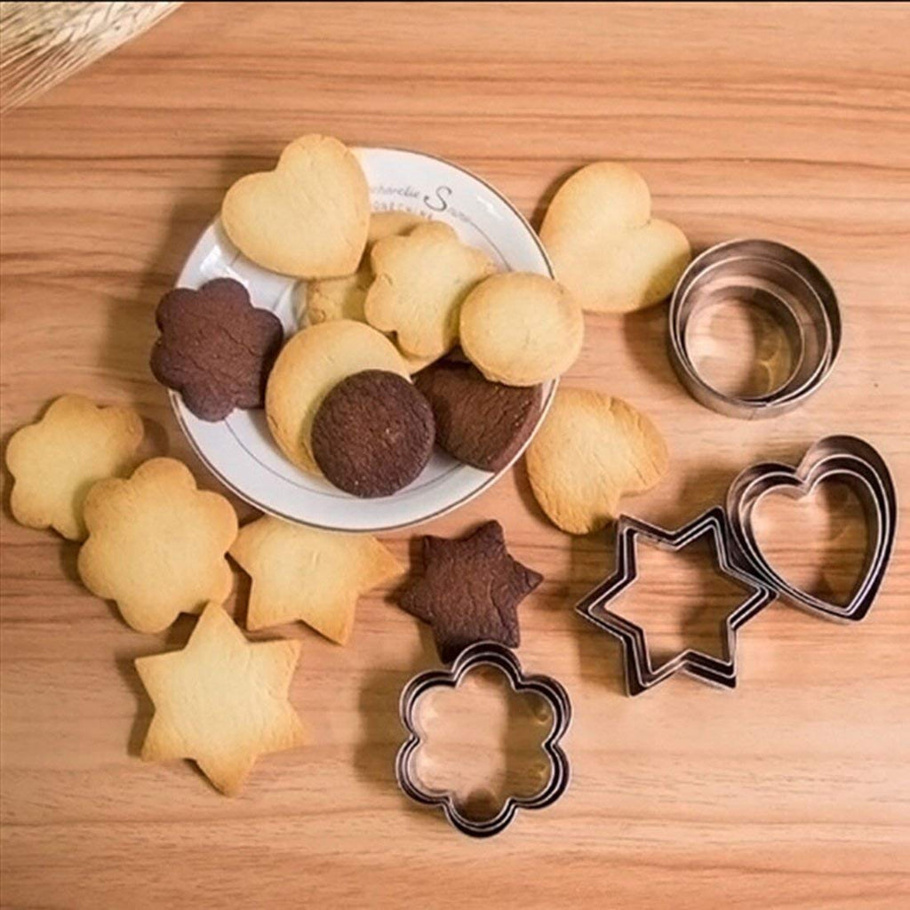 12 Pcs Cookie Cutter - H00095 - ALL MY WISH