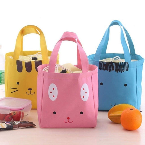 Face Print Insulated Lunch Bag - H00111 - ALL MY WISH