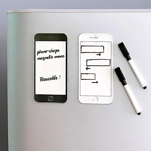 Magnetic Phone Shape Note Pad - H00169 - ALL MY WISH