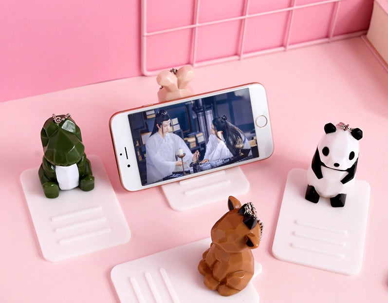 Cartoon 3D Mobile Stand (Random) - H00172 - ALL MY WISH