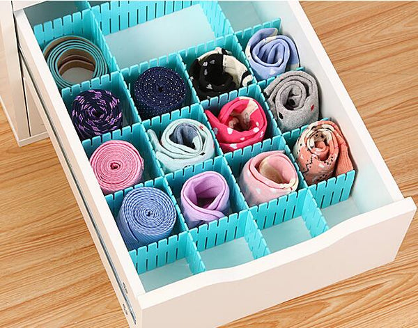 Drawer Divider 8 Pcs Set (Big) - H00197 - ALL MY WISH