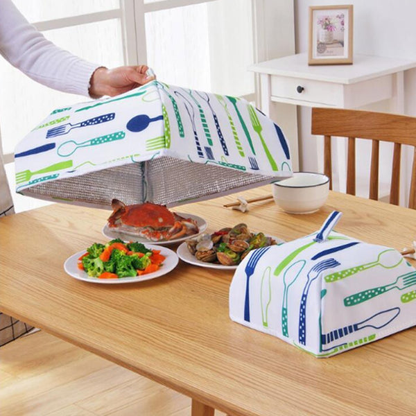 Insulated Food Cover Big (Set Of 2) (Random Print As Per Availability) - H00206 - ALL MY WISH