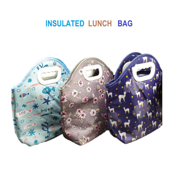 Insulated Lunch Bag (Random Print) - H00210 - ALL MY WISH