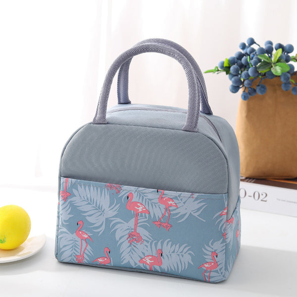 Insulated Lunch Bag – Grey - H00221 - ALL MY WISH