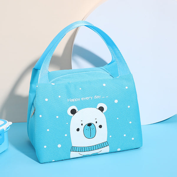 Insulated Lunch Bag – Blue - H00223 - ALL MY WISH