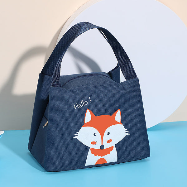 Insulated Lunch Bag - Navy Blue - H00224 - ALL MY WISH