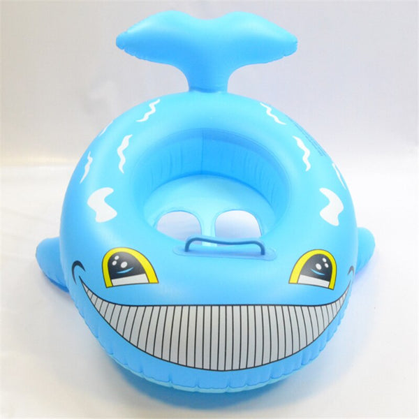 Dolphin Shape Kids Swimming Ring Seat Boat - H00237 - ALL MY WISH