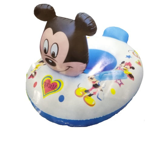 Mickey Kids Swimming Ring Seat Boat (Random) - H00239 - ALL MY WISH
