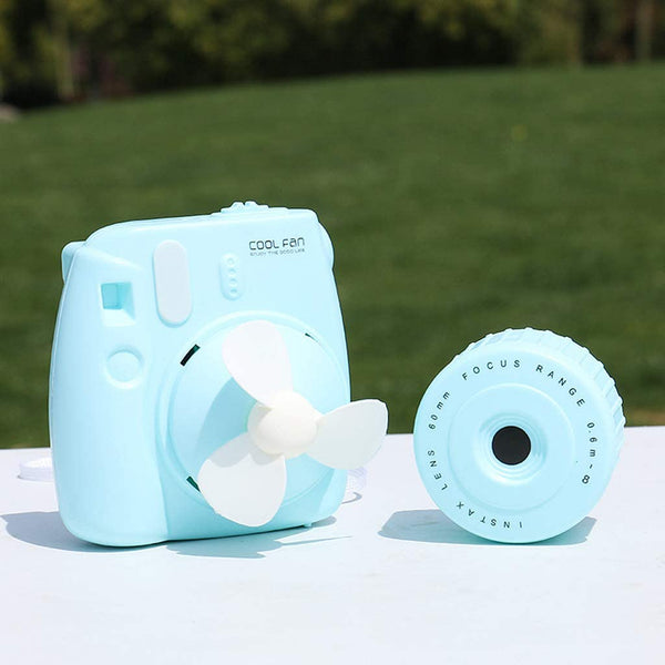 Camera Shaped USB Fan (Random Color) - H00242 - ALL MY WISH