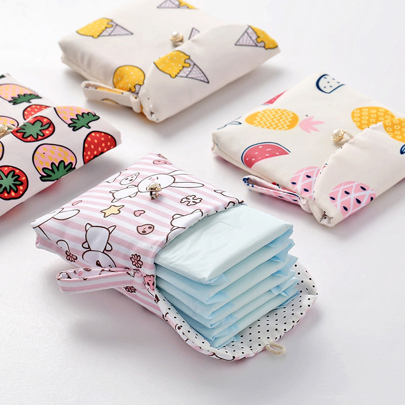Sanitary Napkin Pouch Large Size - H00251 - ALL MY WISH
