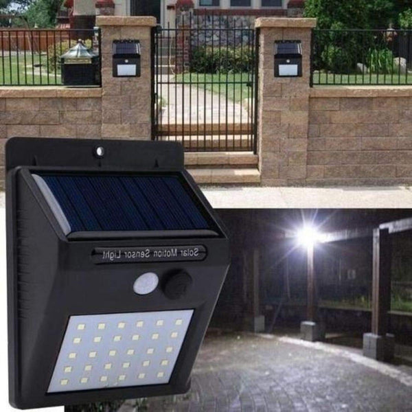 Waterproof Solar Motion Sensor LED Night Light - H00256 - ALL MY WISH