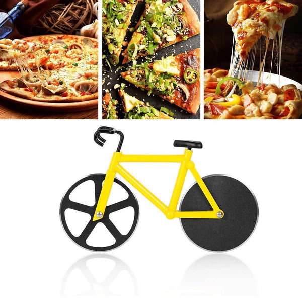 Stainless Steel Bicycle Shape Pizza Cutter - H00275 - ALL MY WISH