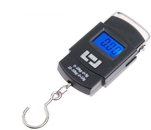 Digital Portable Hook Type Weighing Scale (50 kg, Multicolor) - H00279 - ALL MY WISH
