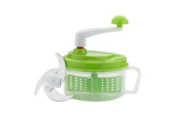 Manual Kitchen Food Processor (Chop N Churn) - H00302 - ALL MY WISH