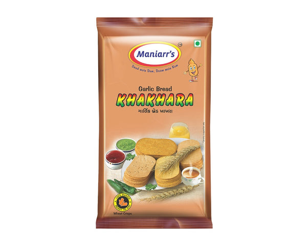 Garlic Bread Khahkra (Pack of 8) - H00338 - ALL MY WISH