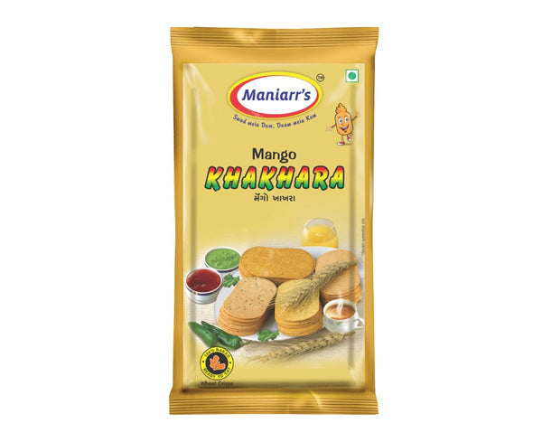 Mango Khakhra (Pack of 8) - H00347 - ALL MY WISH