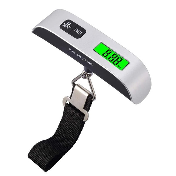 Portable LCD Digital Hanging Luggage Scale - H00502 - ALL MY WISH