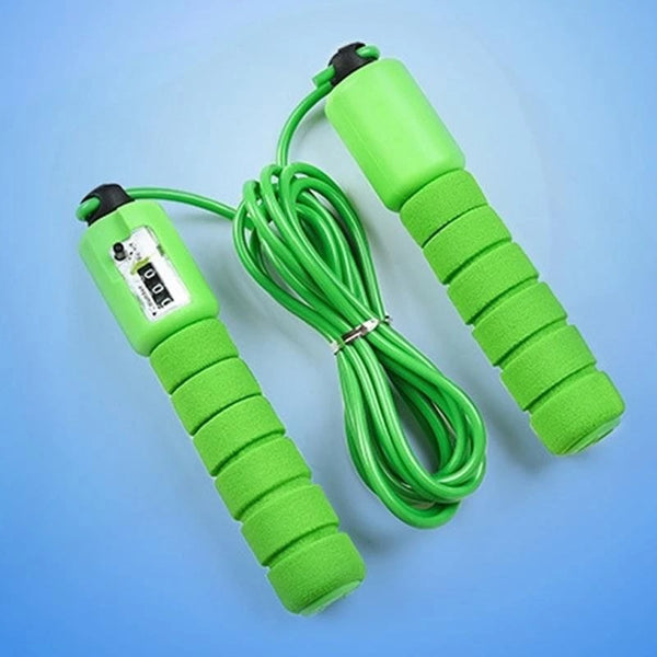 Electronic Counting Skipping Rope (9-feet) - H00545 - ALL MY WISH