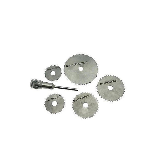 6 Pcs Metal HSS Circular Saw Blade Set Cutting Discs for Rotary Tool - H00603 - ALL MY WISH