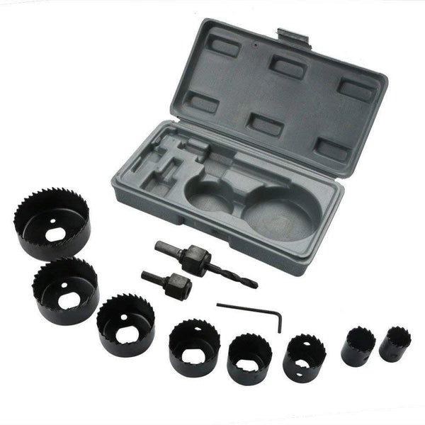 12 pcs 19-64mm Hole Saw Kit - H00606 - ALL MY WISH