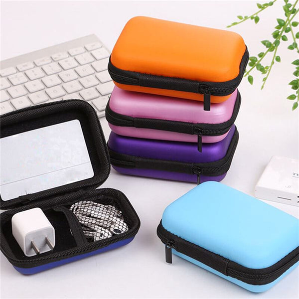 Rectangle Earphone Case (Random Color)- H00645 - ALL MY WISH