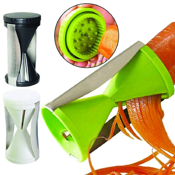 Spiralizer Vegetable Cutter Grater Slicer With Spiral Blades - H00696 - ALL MY WISH