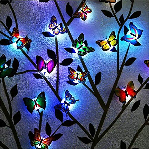 LED Color Changing Beautiful Butterfly (Set Of 10) - H00706 - ALL MY WISH