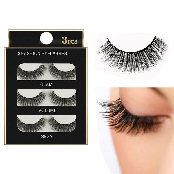 Mink 3D False Eyelashes - H00710 - ALL MY WISH
