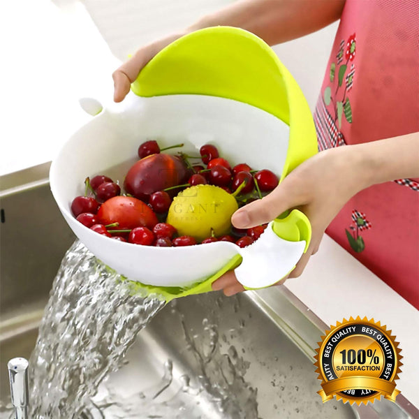 Multifunctional Washing and Detachable Drain Basket Bowl - H00750 - ALL MY WISH