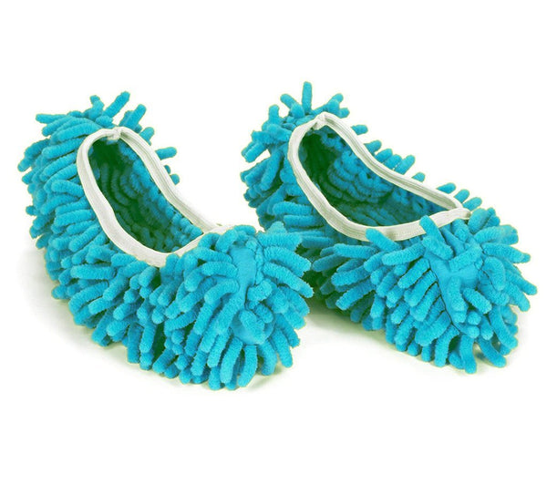 Multi-Function Washable Dust Mop/Floor Cleaning Slippers (Random Color) - H00773 - ALL MY WISH