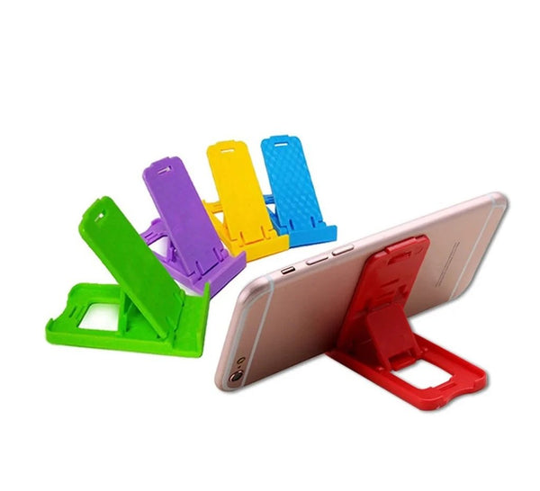 Universal Portable Foldable Holder Stand For Mobile ( 10 Pcs ) - H00775 - ALL MY WISH