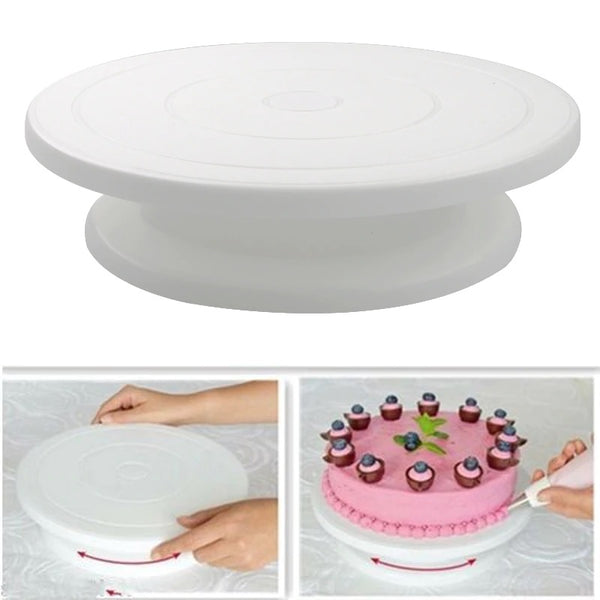Rotating Cake Stand for Decoration and Baking - H00808