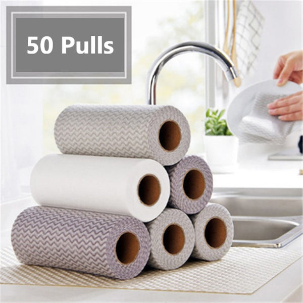 50 Pulls Disposable Napkin ( 1 Roll) - H00830