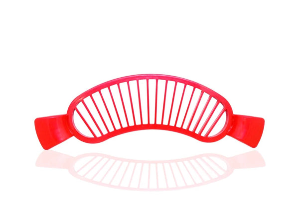 4 Pcs Plastic Banana Slicer/Cutter With Handle - H00844