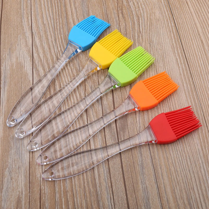 1 Pc -Big Size Silicone Oil Brush Cooking,Tandoor, BBQ (Random Color) - H00865