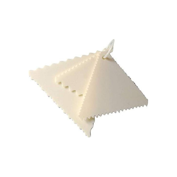 Triangle Cake Scraper Sawtooth Shape - H00868