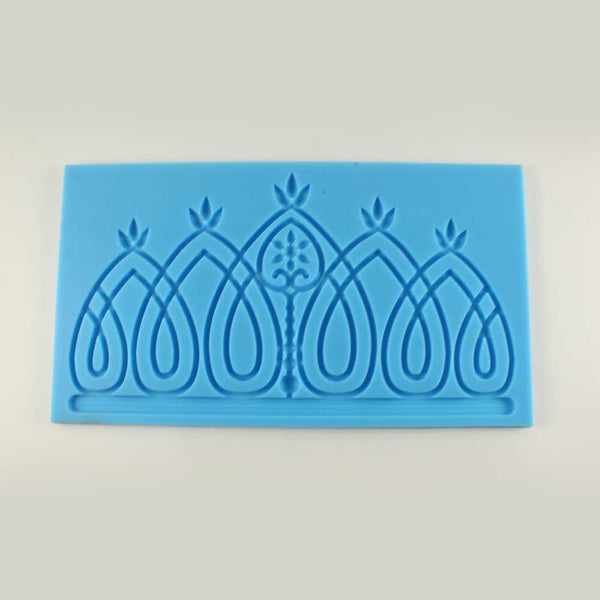 SILICONE IMPRESSION MAT – CROWN DESIGN - H00874