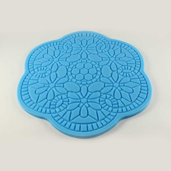 SILICONE IMPRESSION MAT – FLOWER SHAPED - H00875