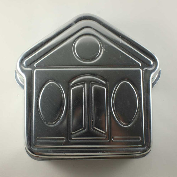 ALUMINIUM CAKE TIN – HUT SHAPED - H00933
