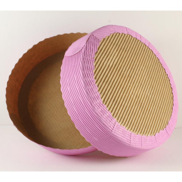 BAKE AND SERVE CAKE MOULD – ROUND PINK – BIG - H00939