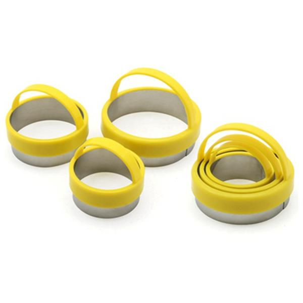 ROUND COOKIE CUTTER WITH HANDLE SET OF 3 - H00995