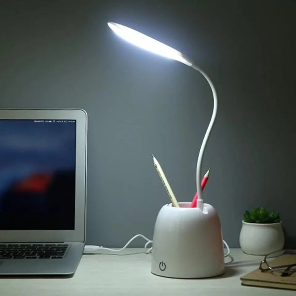 Desk Lamp with Pen Holder Table Lamp with Pencil Stand - H01000