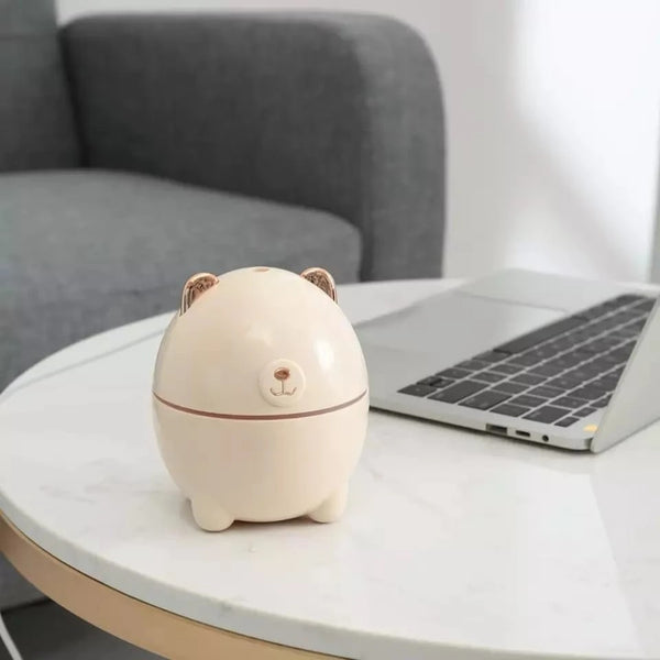 Mini Polar Bear Shaped Cool Mist Portable Humidifier - H01007